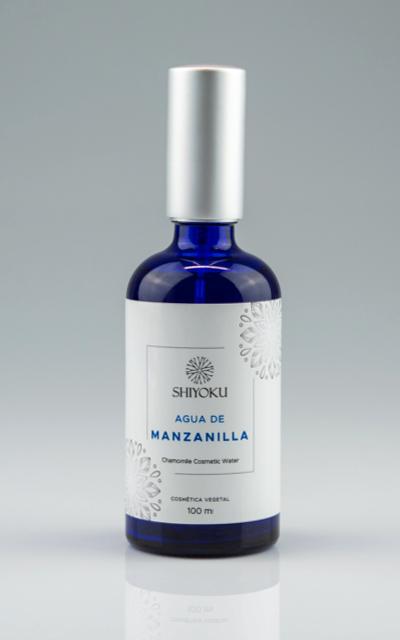 Agua de manzanilla tónico hidratante
